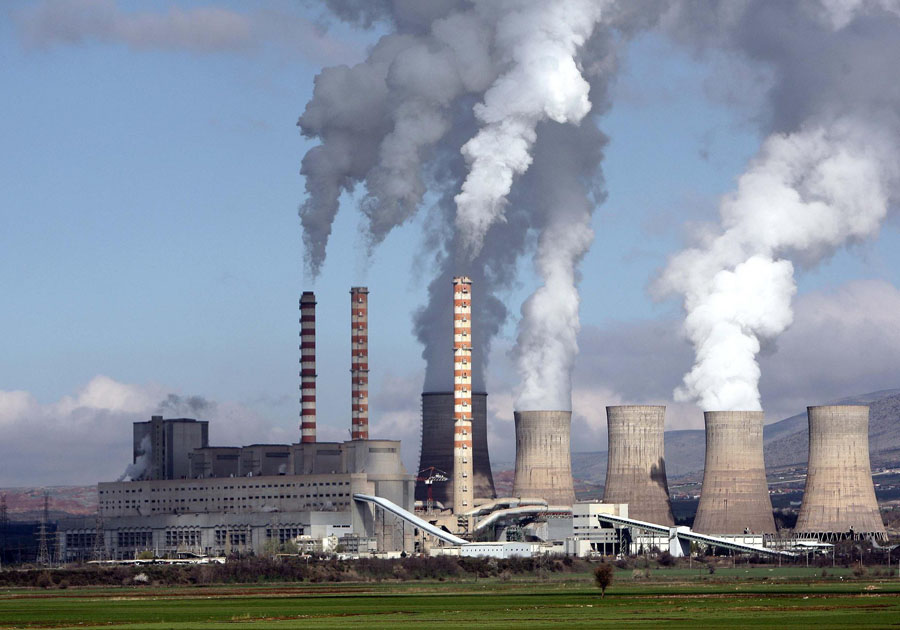 Паровая электростанция в Аг.Димитриу Щиты низкого напряжения Системы контроля и освещения